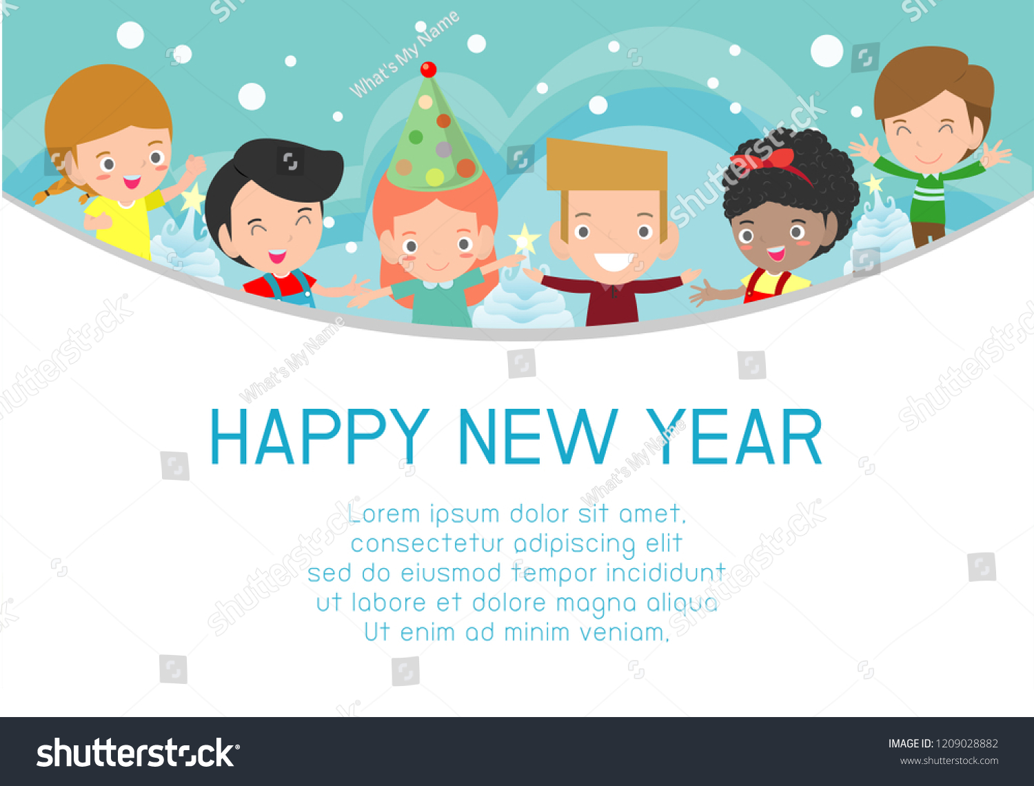 2019 Happy New Year Design Card Stock Vector (Royalty Free.