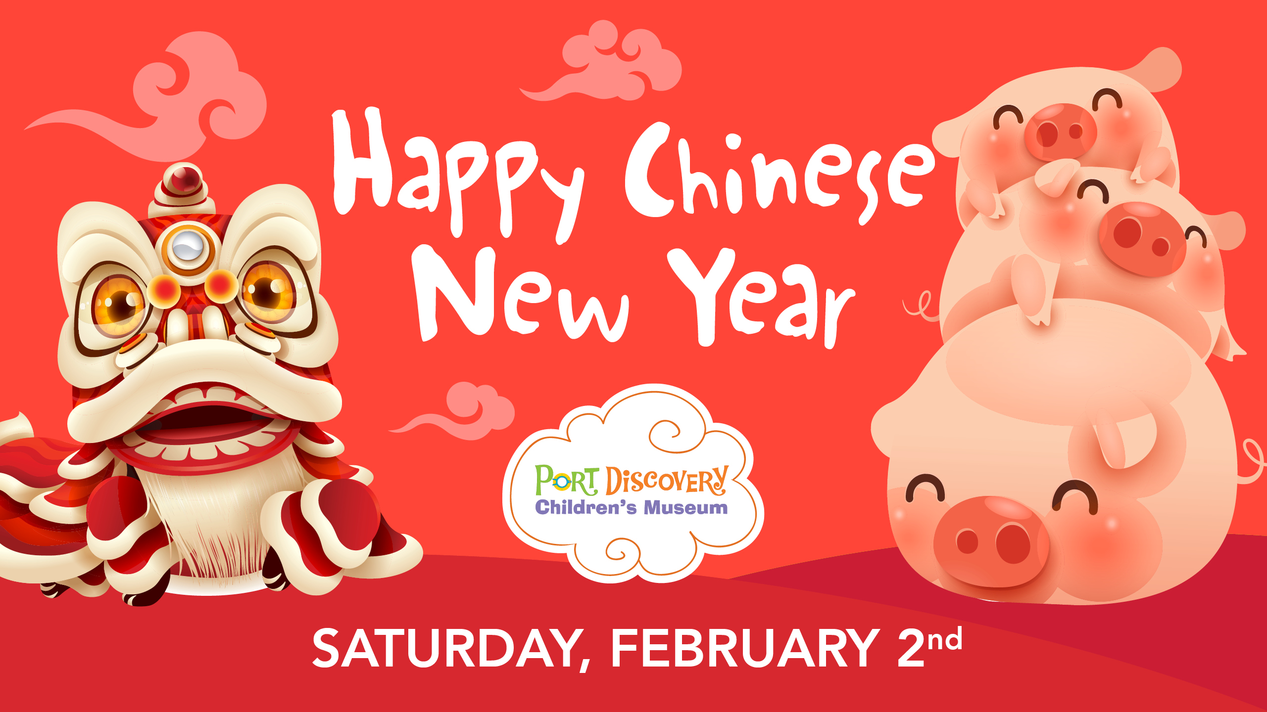 Chinese New Year 2019: Year of the Pig.