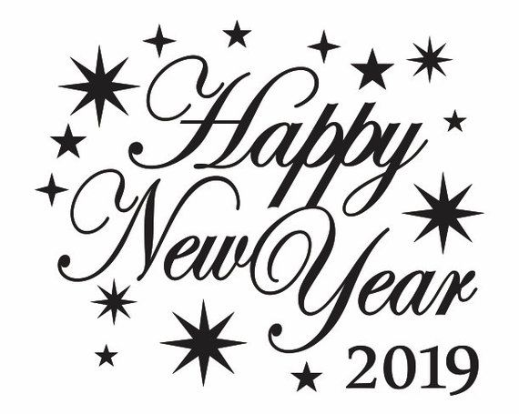 Happy New Year Clipart 2019 For You.