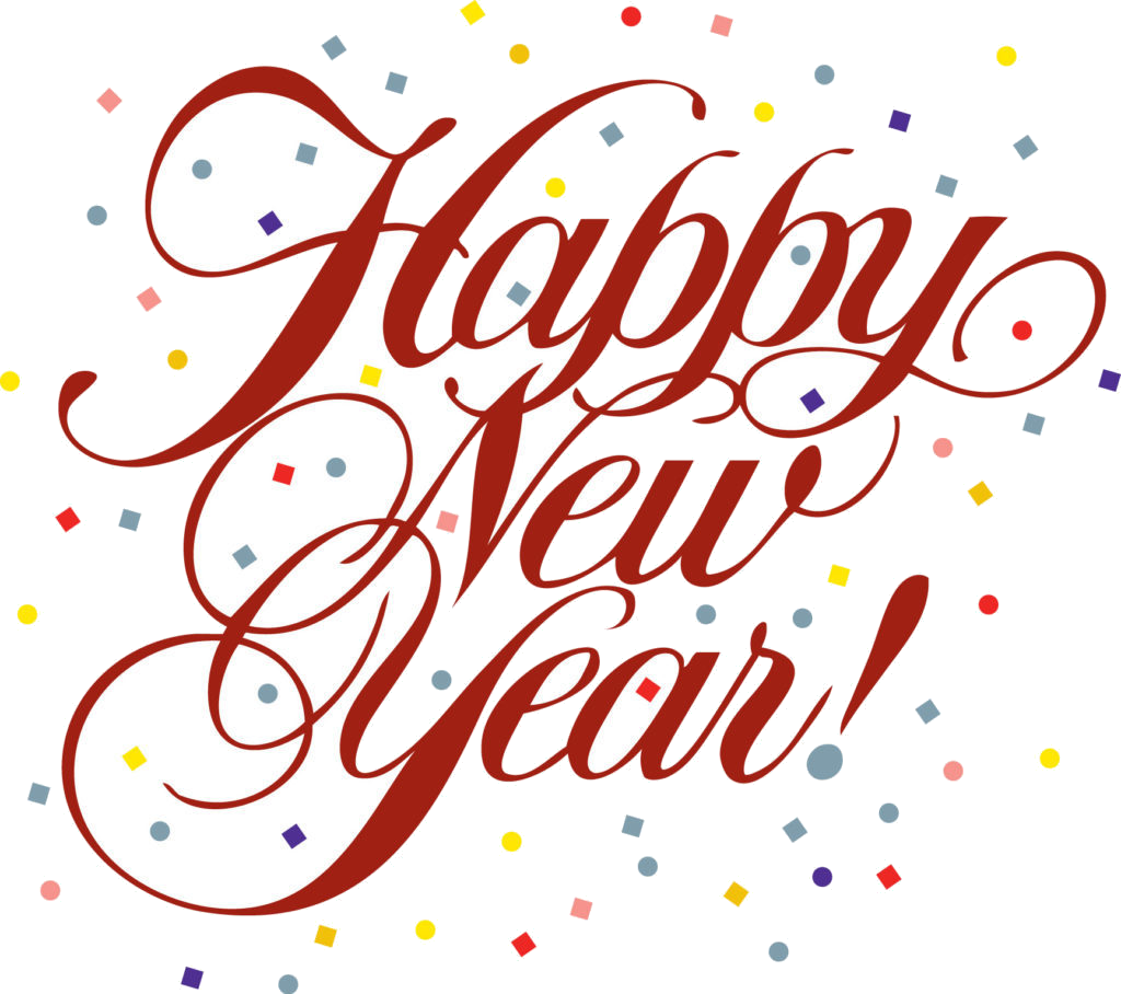 Happy New Year 2019 Clip Art Free , Transparent Cartoon.
