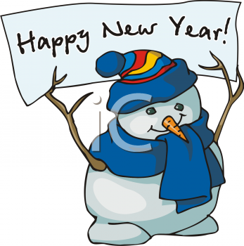 New Year\'s Clip Art Free.