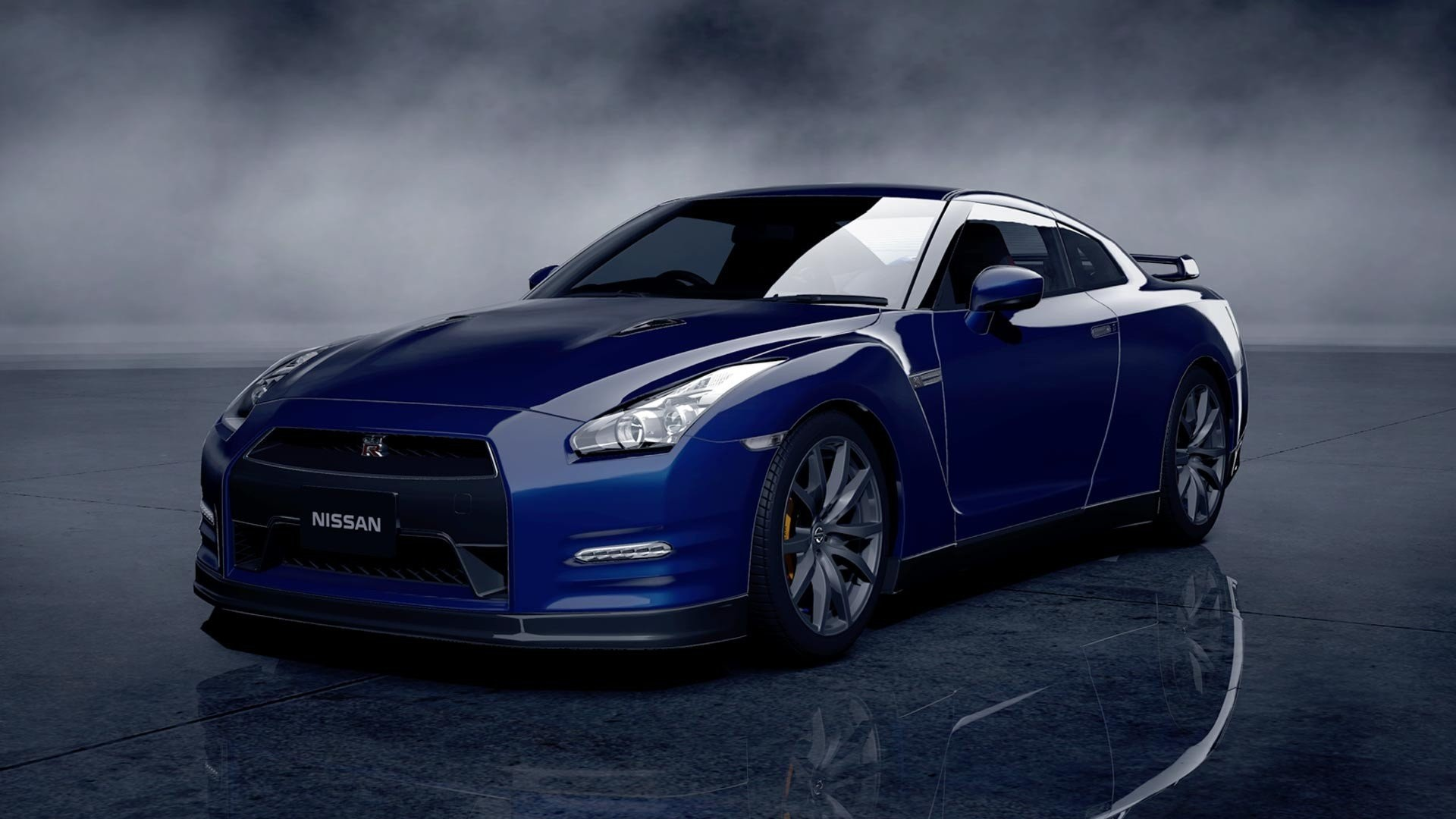 Nissan Gt R R35 Car Front Gates Hd Wallpaper.