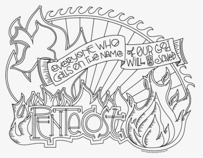 Free Pentecost Clip Art with No Background.