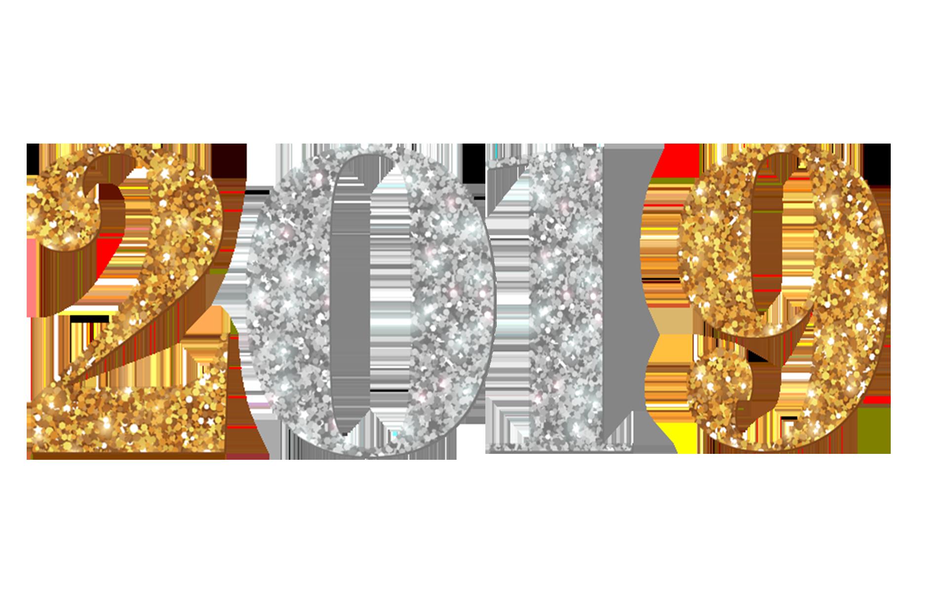 Golden 2019 PNG Transparent Image.