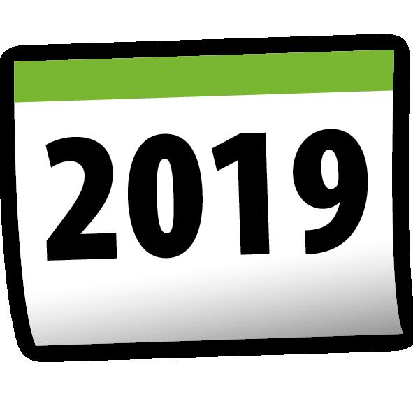 2019 Calendar PNG Free Download #47308.