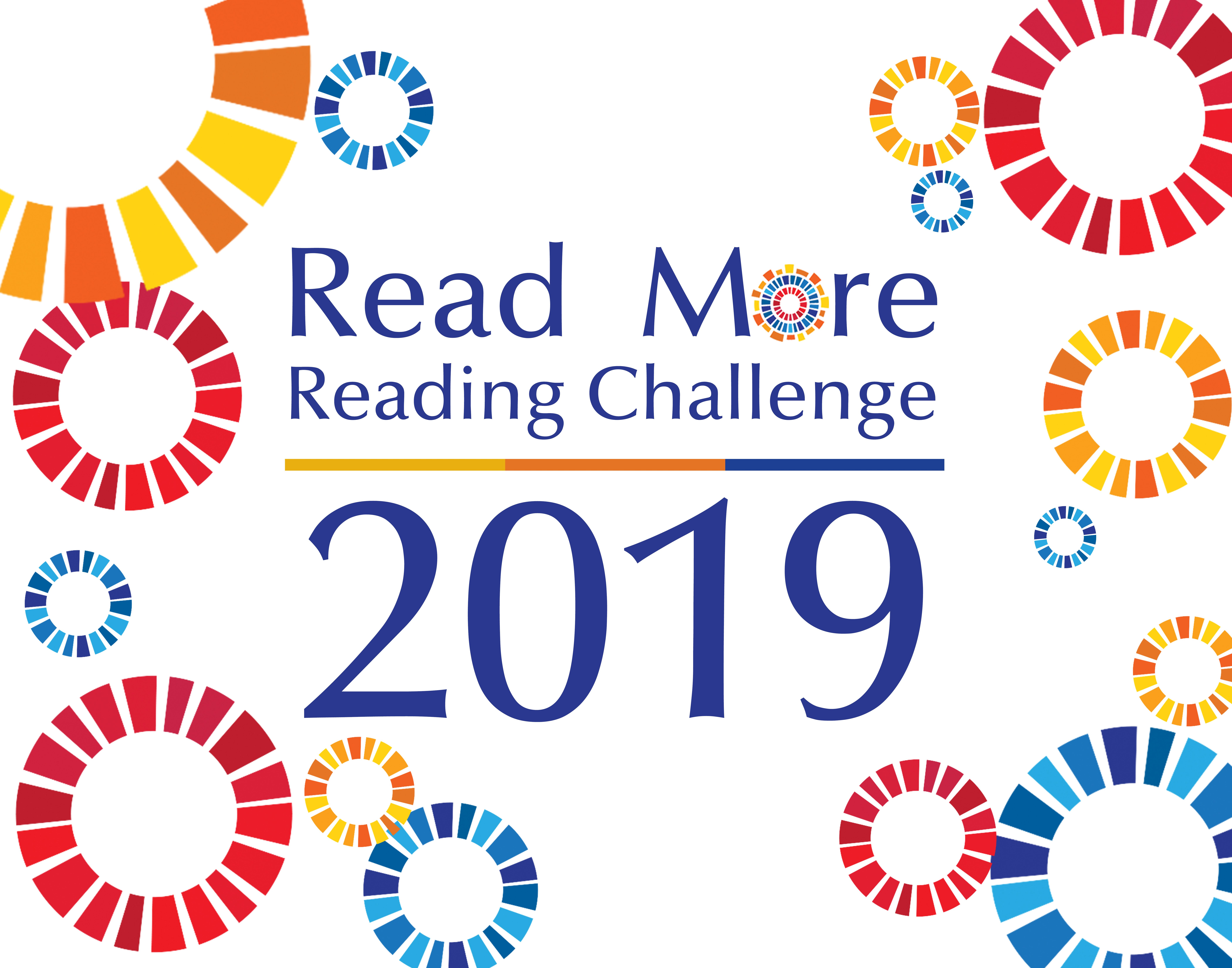 It's year four of our reading challenge. Challenge yourself.