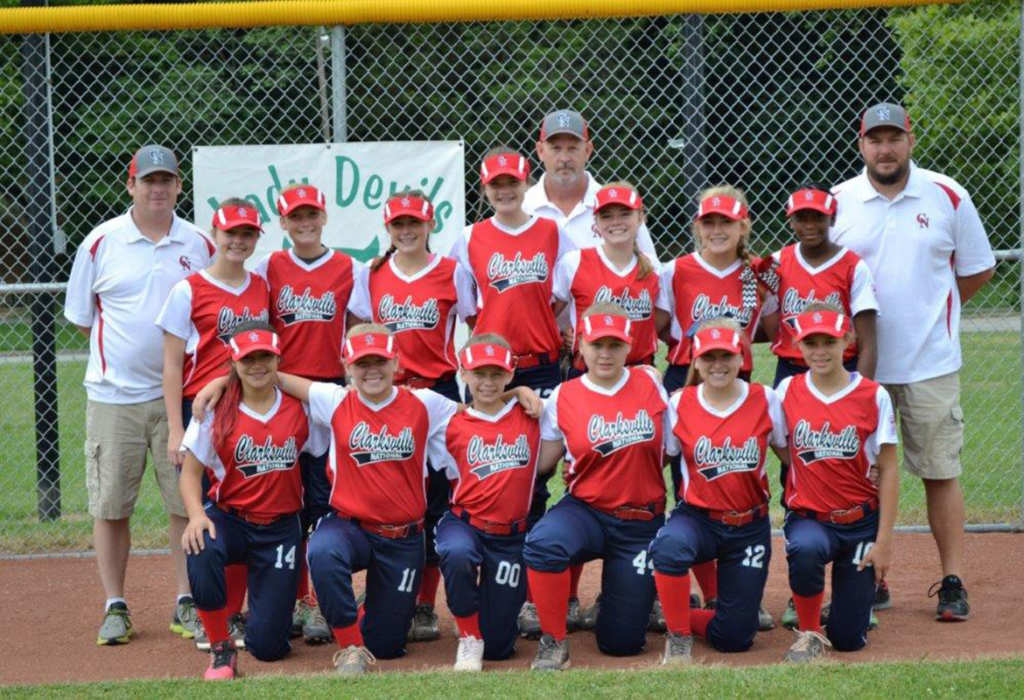 Clarksville National Girls Softball team brings home state.