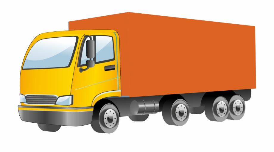 Semi Truck Vector Png Clipart.