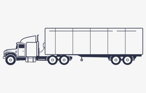 Free Semi Truck Clip Art with No Background.