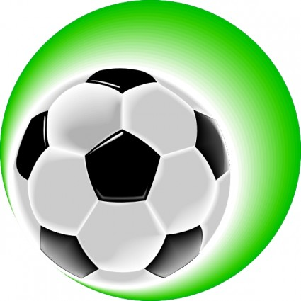 Red soccer ball clip art free clipart images.