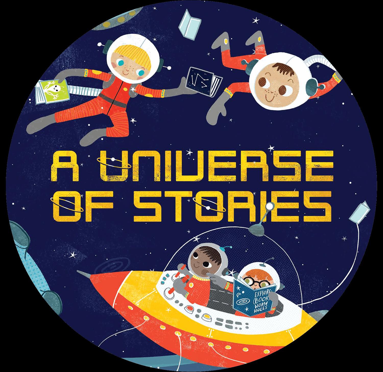 Kids Summer Reading Program 2019: A Universe of Stories.