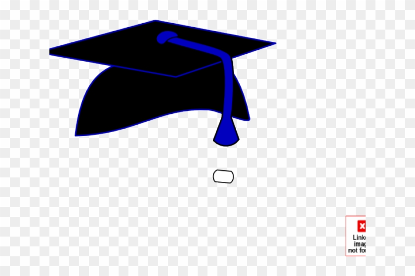 Graduation Cap With Blue Tassel, HD Png Download (#1187975.