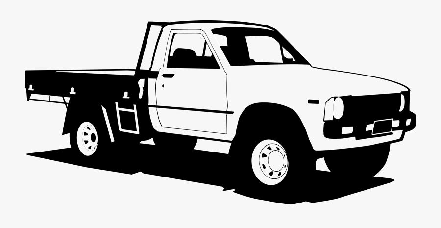 Toyota Hilux Pickup Truck.
