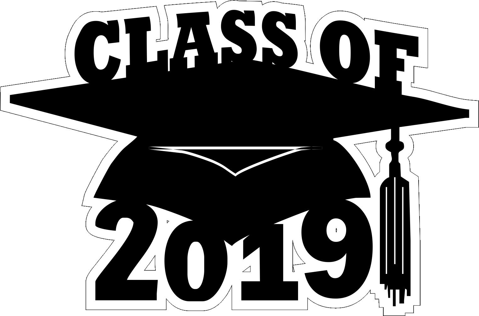 Free Class Of 2019 Clipart , Transparent Cartoon.