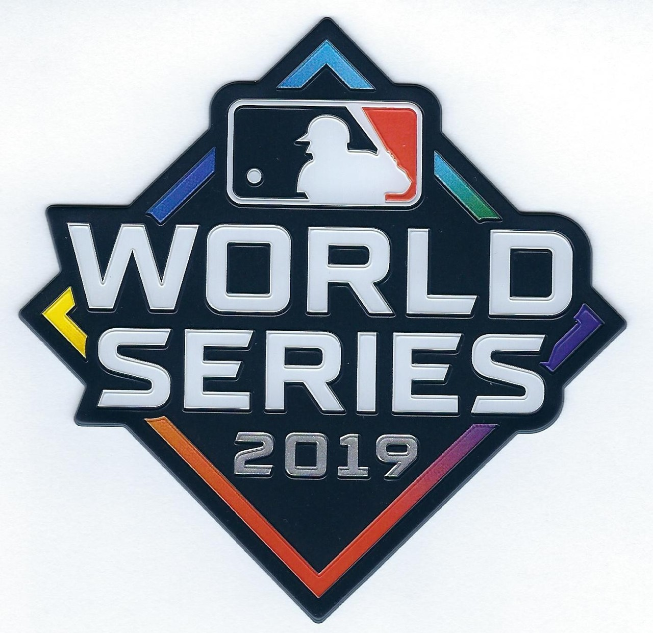 MLB 2019 World Series Collectors Patch.