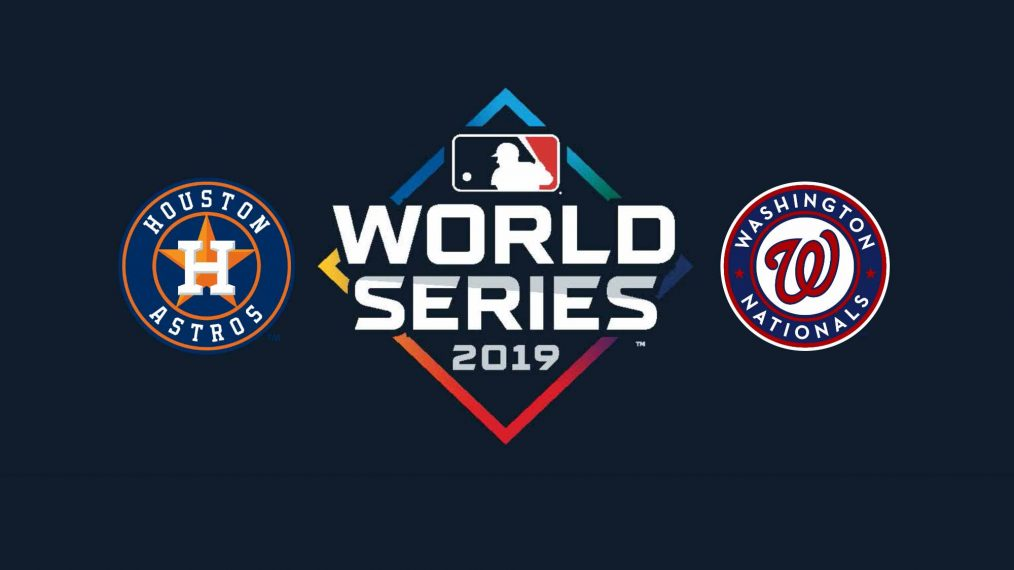 Nationals vs. Astros in 2019 World Series on Fox.