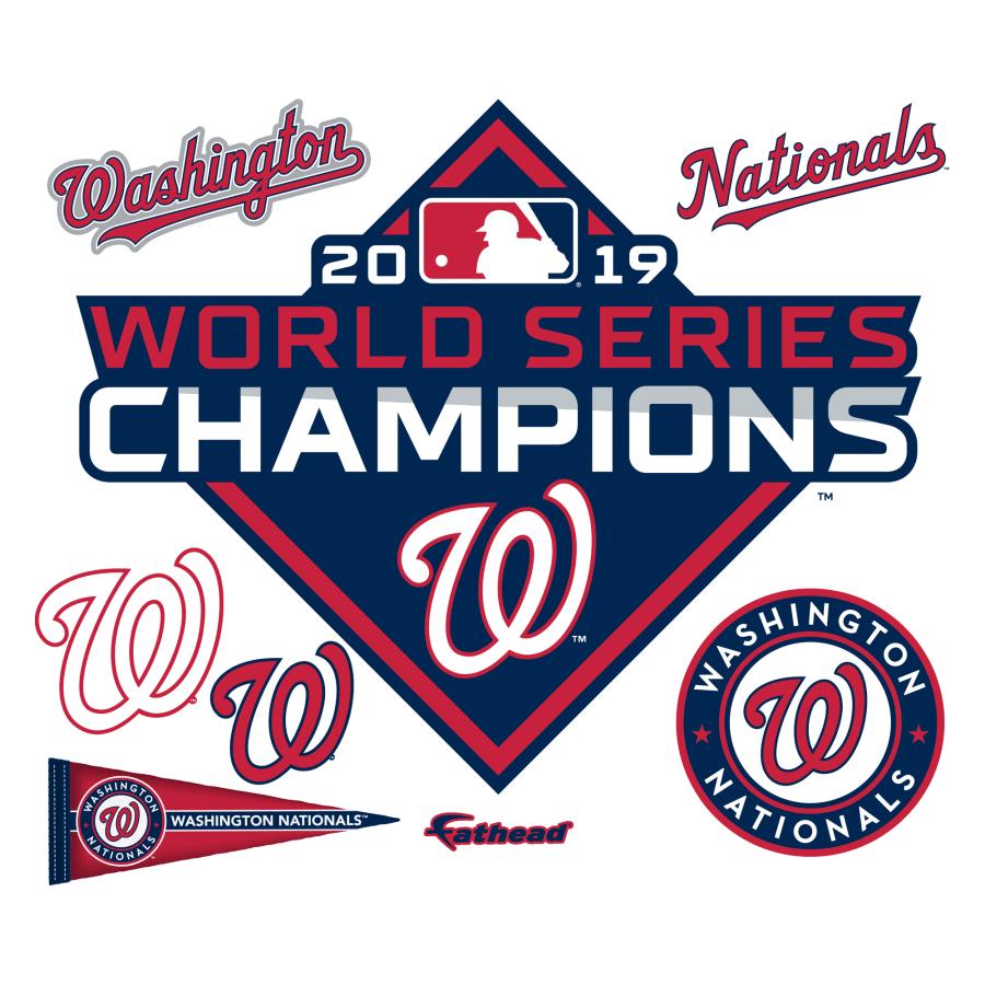 Washington Nationals: 2019 World Series Champions Logo.