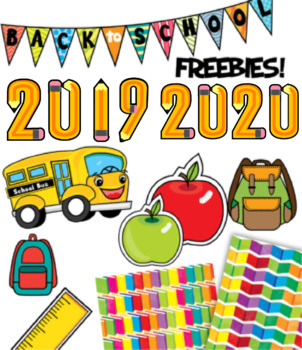 Back to School Clip Art Freebies {Watson Works Clip Art/Graphics}.