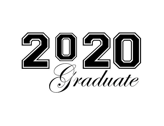 Graduate 2020 Graduation Clip Art.
