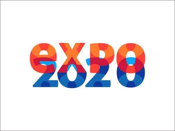 Expo 2020 logo design Dubai contest DNS.