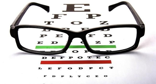Eye Chart Clipart.