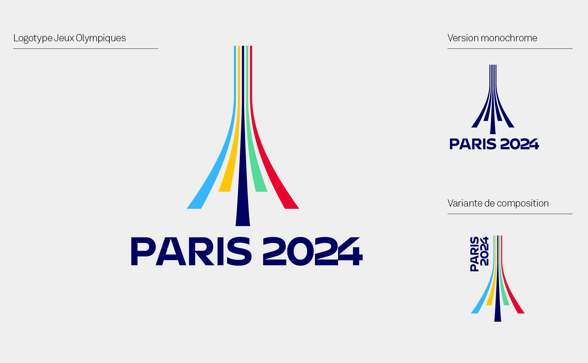 Logo project for the 2024 Paris Olympic Games.