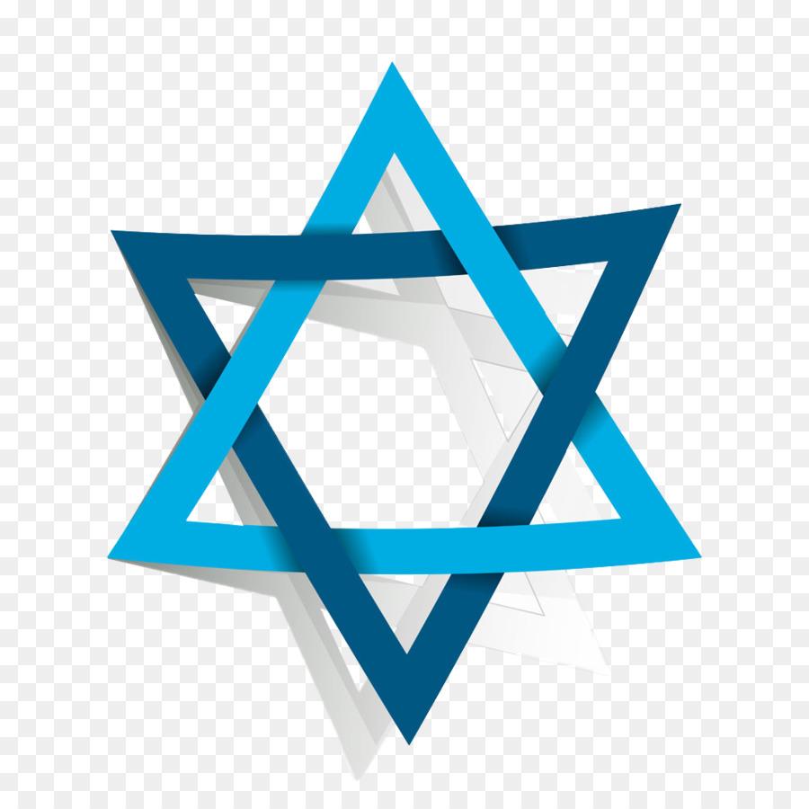 Star of David Vector graphics Judaism Illustration Hexagram.