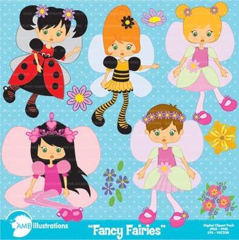 Fairy clipart, Fairies Clipart, Bugs Clipart, AMB.