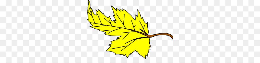 Autumn leaf color Yellow Clip art.