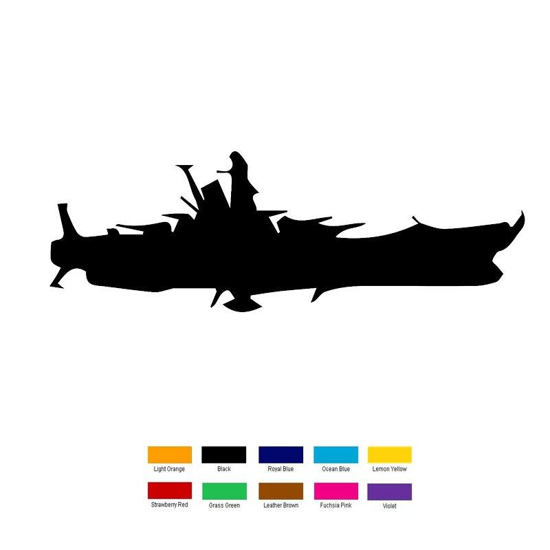 Wholesale 10 pcs/lot 20cm x 5cm Battleship Yamato Car.