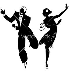 Roaring 20s clipart 2 » Clipart Station.