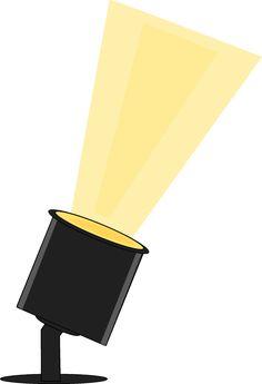 Movie Premiere Lights Clipart.