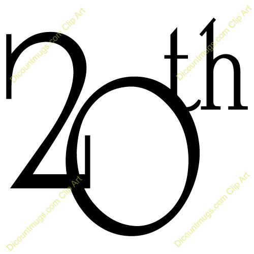 20th anniversary clipart 6 » Clipart Portal.