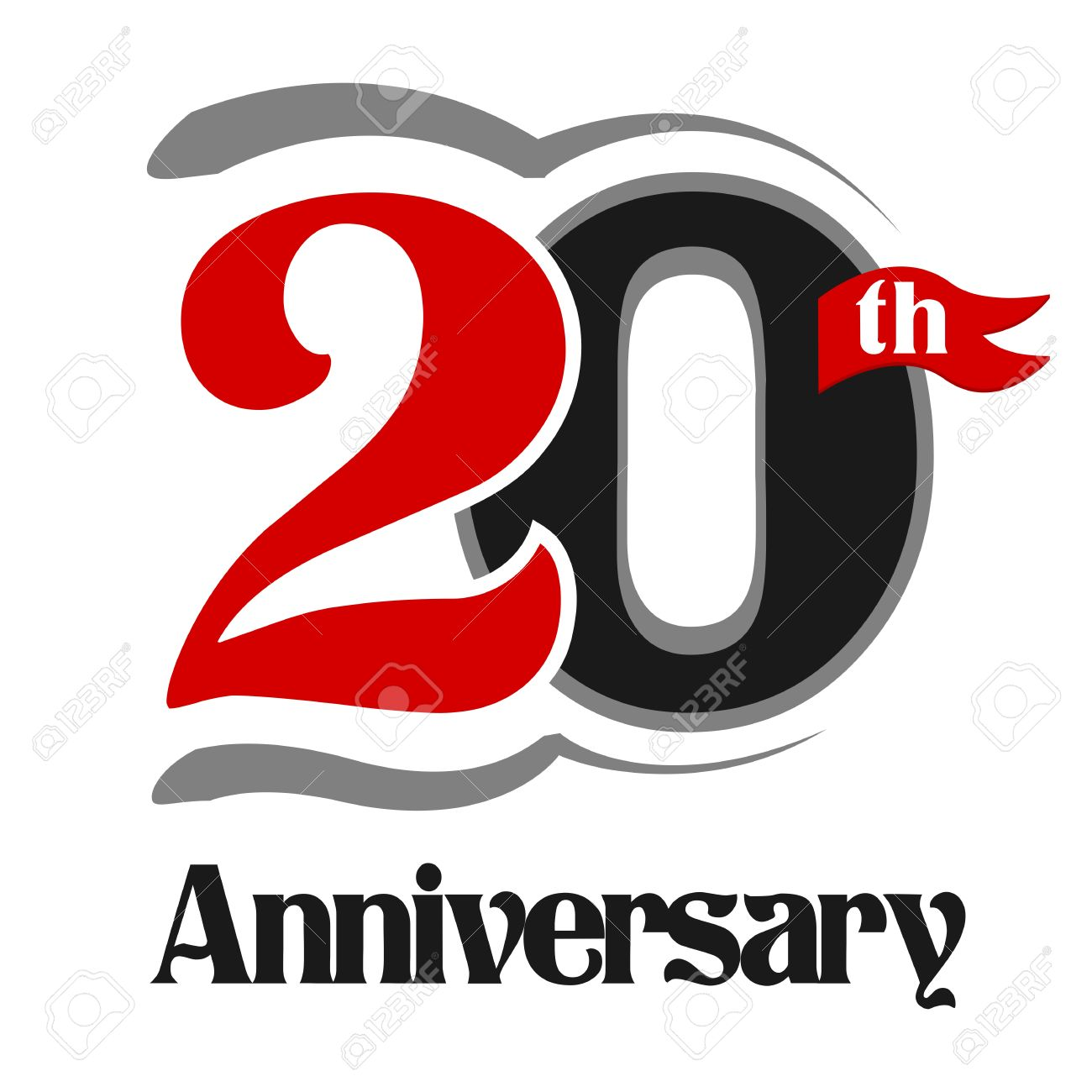 20th anniversary clipart 6 » Clipart Station.