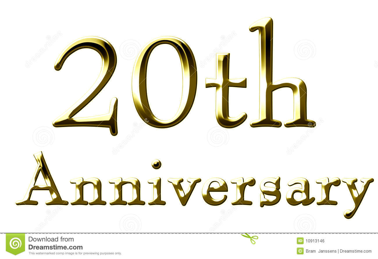 20th anniversary clipart 4 » Clipart Station.