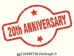 20Th Anniversary Clip Art.