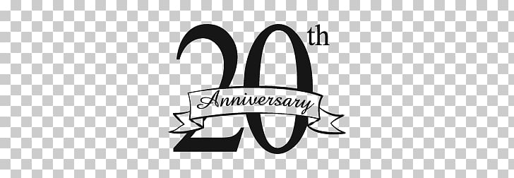 20th Anniversary, 20th Anniversary poster PNG clipart.