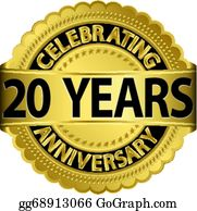 20Th Anniversary Clip Art.