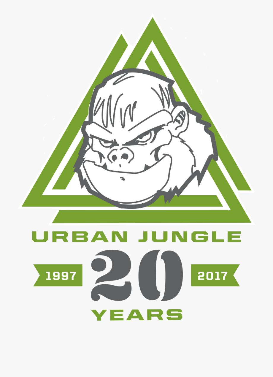 Urban Jungle 20th Anniversary Logo Urban Jungle Self.