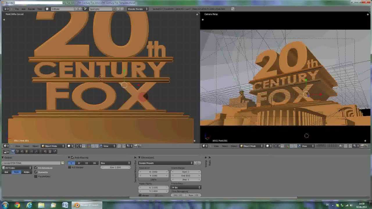 TUTORIAL: 20th Century Fox Intro HD.