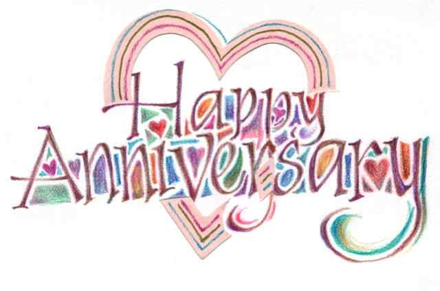 Happy anniversary download wedding anniversary clip art free.