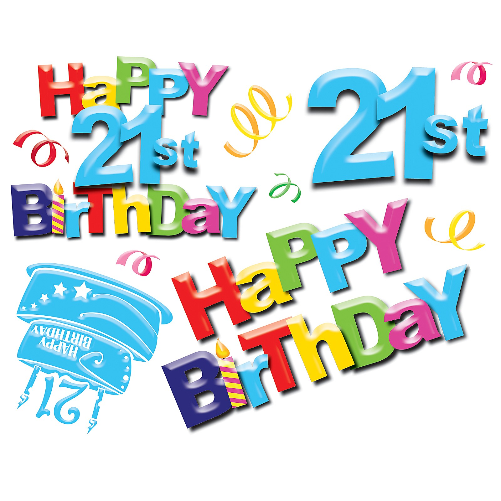 Free Happy 21st Birthday Graphics, Download Free Clip Art.