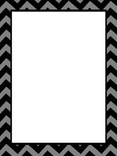Free Black And White Chevron Border, Download Free Clip Art.