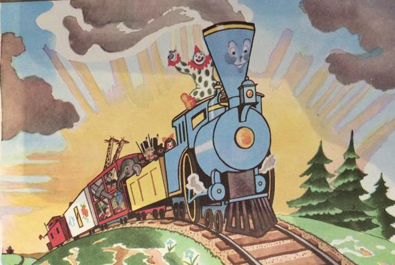 21 Clip Art Children\'s The Little Engine That Could Pictures.