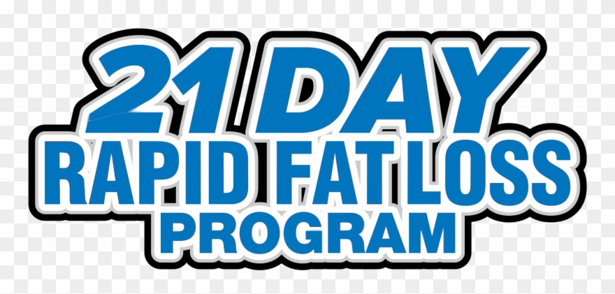So What Exactly Is The 21 Day Rapid Fat Loss Program Clipart.