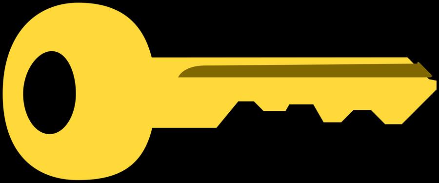Key Clipart 21st Key.