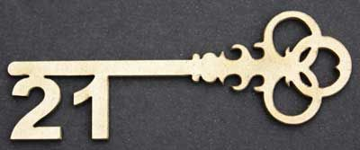 21st Key.