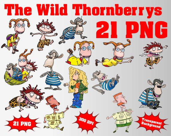 The Wild Thornberrys Clipart.