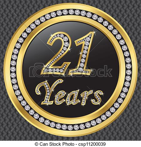 21 years Vector Clip Art EPS Images. 425 21 years clipart.