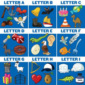 Alphabet Clip Art Bundle.
